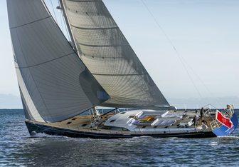 Farfalla charter yacht interior designed by Nauta Yachts