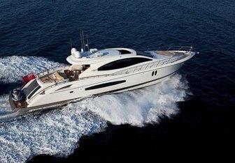 Lizzi yacht charter Lazzara Motor Yacht