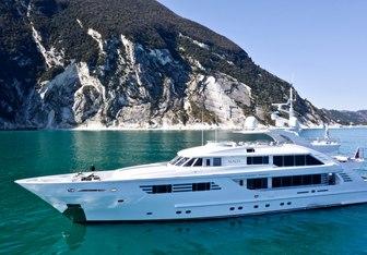 Alalya charter yacht interior designed by Cristiano Gatto Design