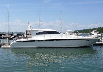 Bet On It yacht charter Leopard Motor Yacht