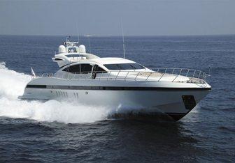 Melody Nelson yacht charter Overmarine Motor Yacht