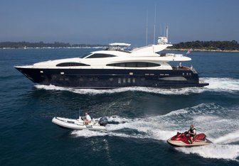 Ordisi charter yacht exterior designed by Astondoa