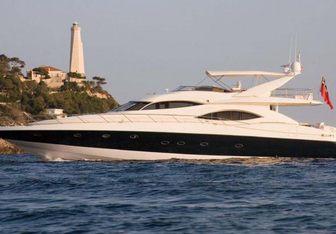 Ruff One yacht charter Sunseeker Motor Yacht