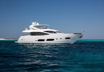 Play the Game yacht charter Sunseeker Motor Yacht
