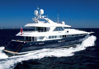 Kijo yacht charter Heesen Motor Yacht