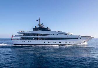 Luna B Yacht Charter in Amalfi Coast