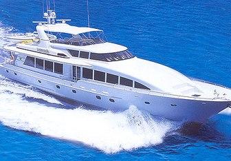Harmony yacht charter Crescent  Yachts Motor Yacht