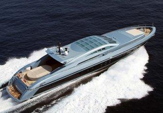 Blue Princess Star yacht charter Baglietto Motor Yacht