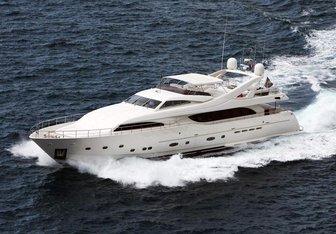 Lady Maria yacht charter Custom Line Motor Yacht