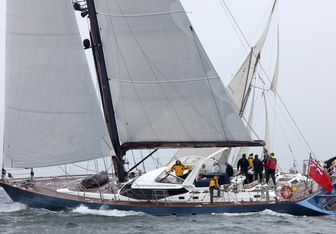 Bare Necessities yacht charter Oyster Yachts Sail Yacht