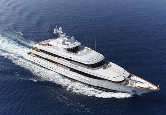 Lady Britt yacht charter Feadship Motor Yacht