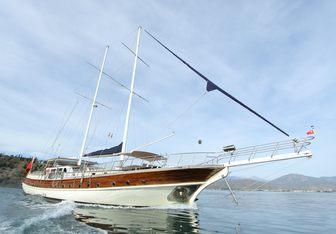 Queen Lila yacht charter Fethiye Shipyard Sail Yacht