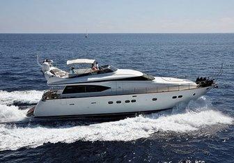 Yakos yacht charter Maiora Motor Yacht