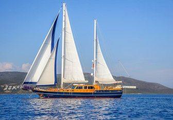 Dea Del Mare yacht charter Bodrum Shipyard Motor/Sailer Yacht