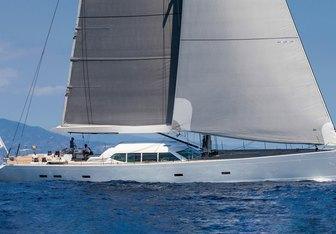 Gliss yacht charter Royal Huisman Sail Yacht