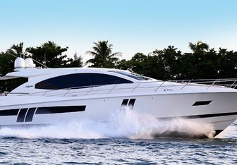 BG yacht charter Lazzara Motor Yacht