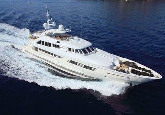Rola charter yacht interior designed by Cristiano Gatto Design