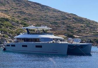 Galux One yacht charter Lagoon Motor Yacht