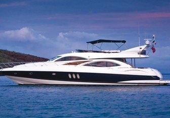 La Odisea yacht charter Sunseeker Motor Yacht