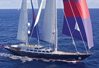 Andromeda la Dea yacht charter Perini Navi Sail Yacht