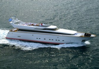Pollux yacht charter Cantieri di Pisa Motor Yacht