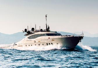 Bagheera yacht charter Palmer Johnson Motor Yacht