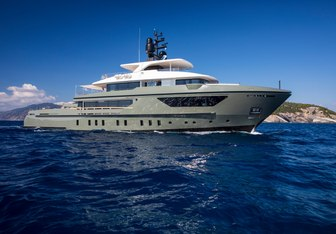 Moka yacht charter Sanlorenzo Motor Yacht
