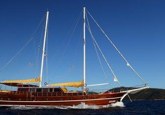 White Swan yacht charter Mutlutur Yachting Motor/Sailer Yacht