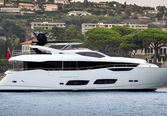Mr. K Iriston yacht charter Sunseeker Motor Yacht