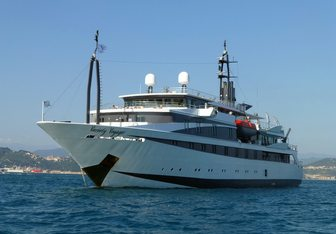 Variety Voyager charter yacht exterior designed by Lally Poulias & Apollo Victory Marine