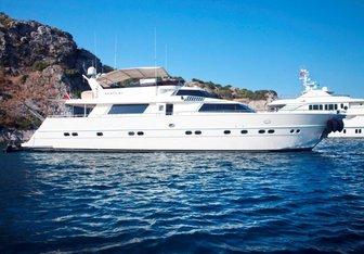 Sveti Sky yacht charter Cantieri di Pisa Motor Yacht