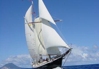 Bonnie Lynn yacht charter McKenzie Barge & Derrick Co Sail Yacht