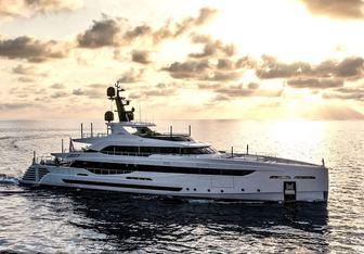 LEL yacht charter Rossinavi Motor Yacht