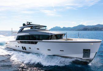 Pause of London yacht charter Sanlorenzo Motor Yacht