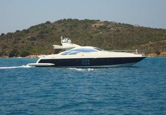 Chimera yacht charter Azimut Motor Yacht