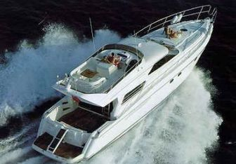 Livin Wright yacht charter Viking Yachts Motor Yacht