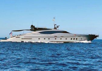 Escape II charter yacht exterior designed by Nuvolari Lenard