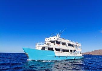 Aqua yacht charter Custom Motor Yacht