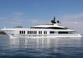 Samurai yacht charter Alia Yacht Motor Yacht