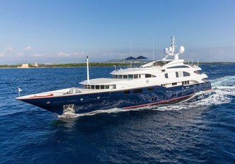 Lady Michelle Yacht Charter in St Barts