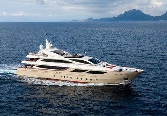 Panakeia charter yacht interior designed by Cristiano Gatto Design