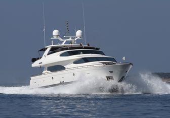 Conte Alberti yacht charter Horizon Motor Yacht