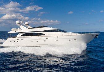 Stella of the North yacht charter Azimut Motor Yacht