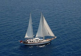 Rigel yacht charter Custom Sail Yacht