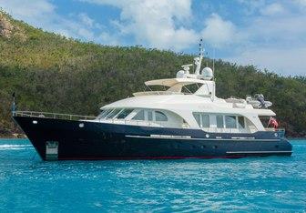 Aurora yacht charter Moonen Motor Yacht