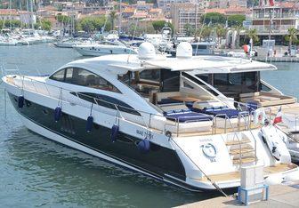 Vanina V yacht charter Princess Motor Yacht
