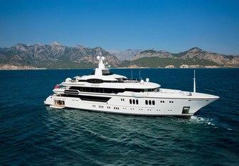 Irimari charter yacht exterior designed by Espen Oeino