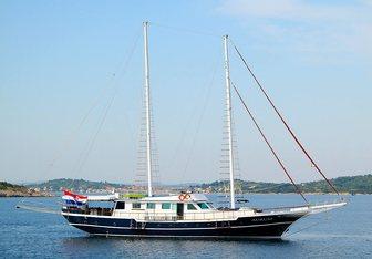 Aurum Yacht Charter in Mljet