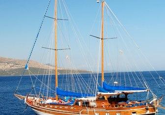Syrolana yacht charter Custom Sail Yacht