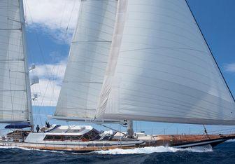 Infatuation yacht charter Jongert Sail Yacht
